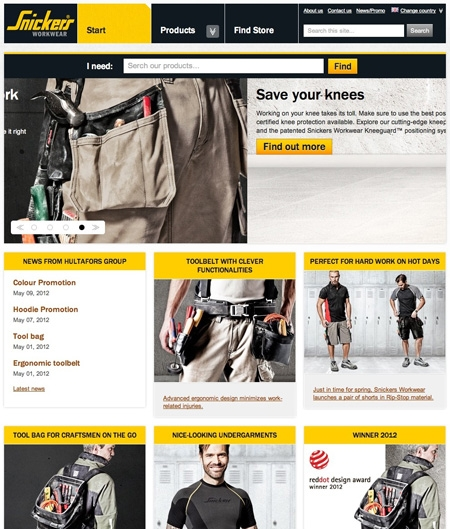 Snickers Workware Clothing and Equipment