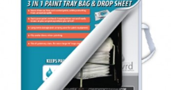 Paint Tray Bag and Drop Sheet