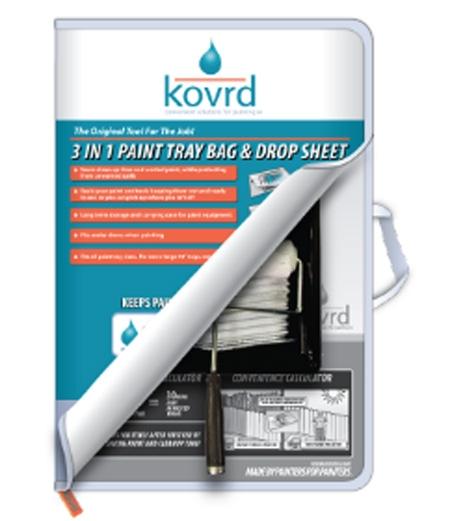 Paint Tray Bag and Drop Sheet