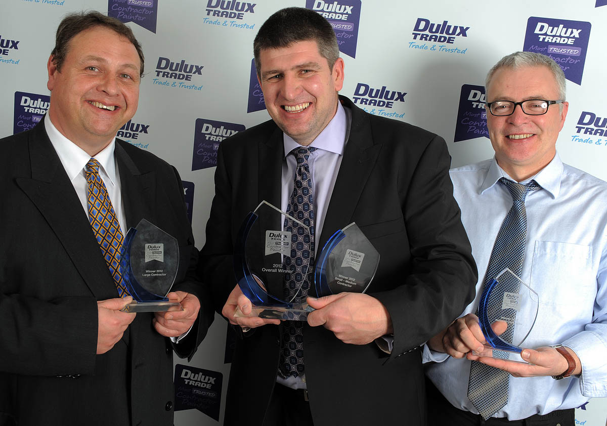 dulux trade most trusted decorator contractor