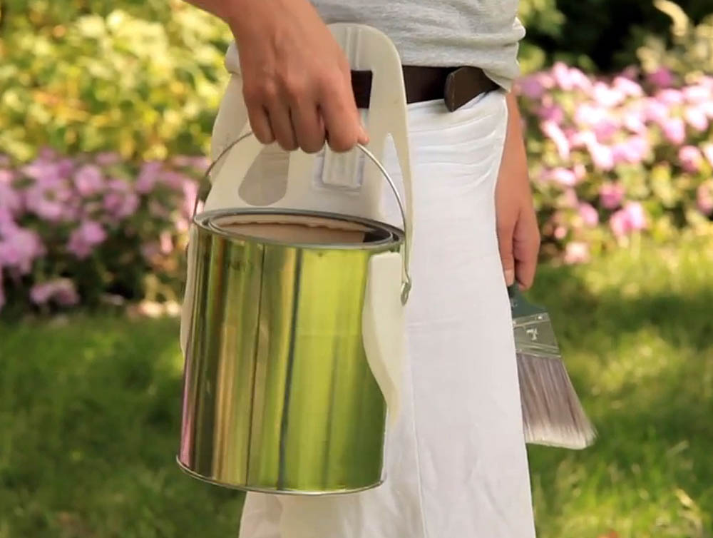 quickdraw paint can holster