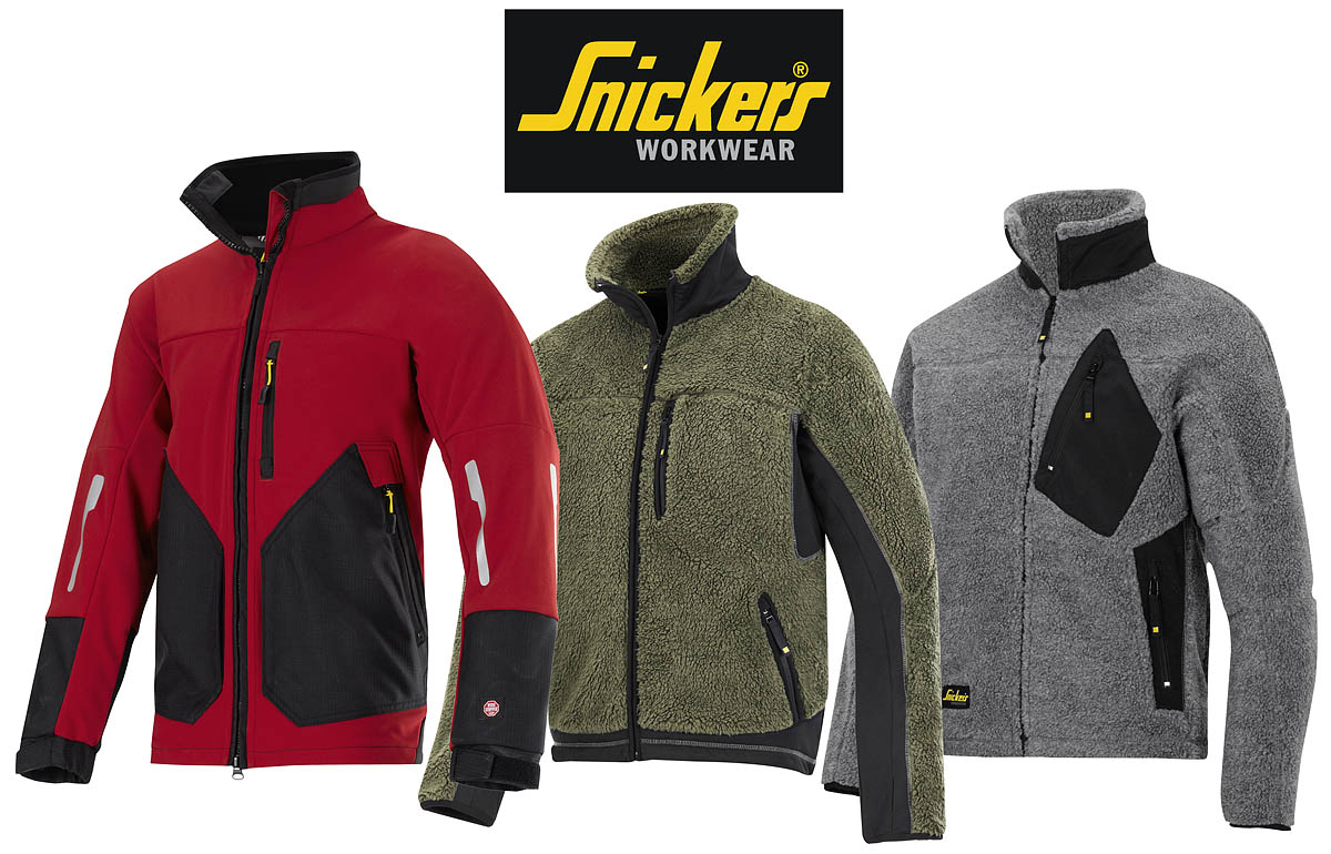 Snickers Workwear Jackets and Fleeces - Painting and Decorating News