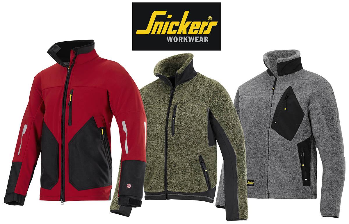 snickers workware jackets fleeces