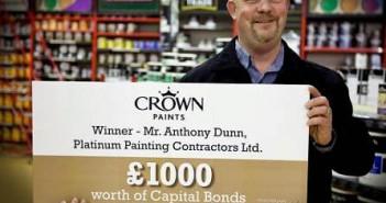 tony dunn crown paints winner