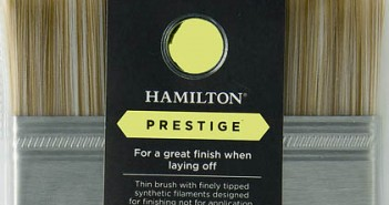 hamilton laying off brush