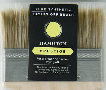 hamilton laying off brush