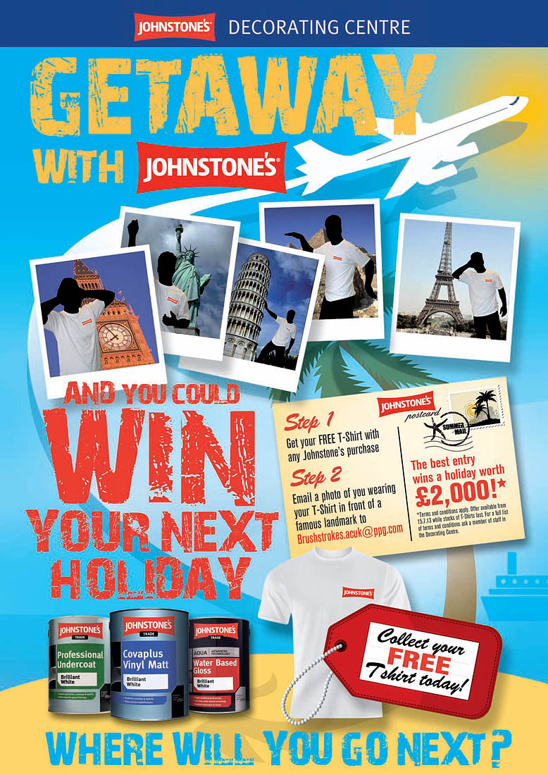 Johnstone 39 s holiday competition painting and decorating news for A t the salon johnstone