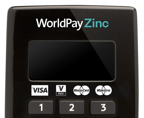 worldpay zinc accept card payments