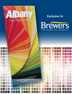 Albany Paint Colour Card