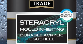 Crown Trade Steracryl Mould Inhibiting paint