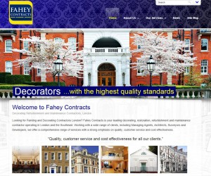 Fahey Contracts new website