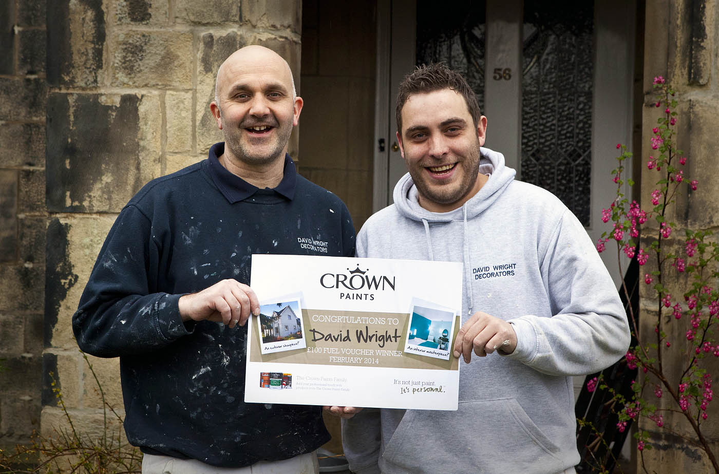 Crown Paints £100 Facebook Prize Scooped!