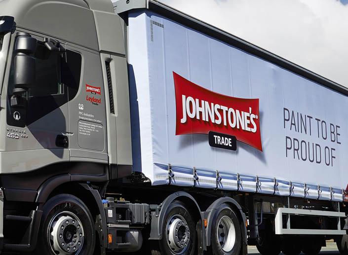 Johnstone's Trade Branding