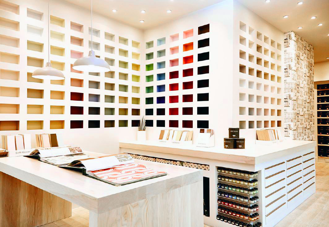 Little Greene First Uk Store Painting And Decorating News