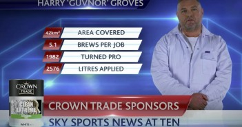 Crown Paints Scores Sky Sports News TV Deal