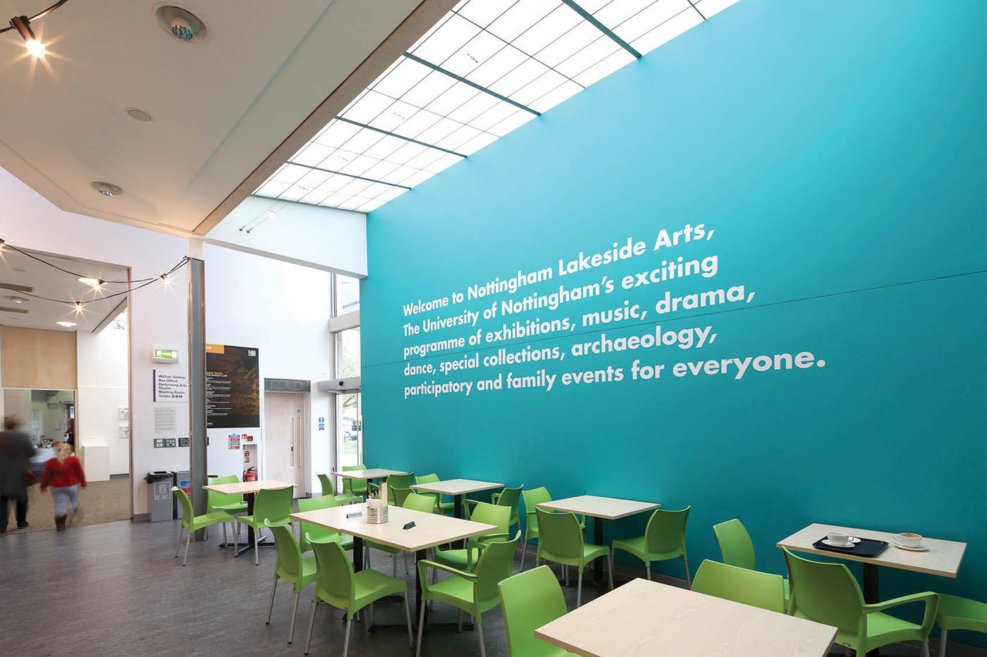 Johnstone's Trade has played an integral role in an extensive cyclical maintenance project at the D H Lawrence Pavilion at Nottingham Lakeside Arts