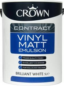 Crown Contract Matt Emulsion