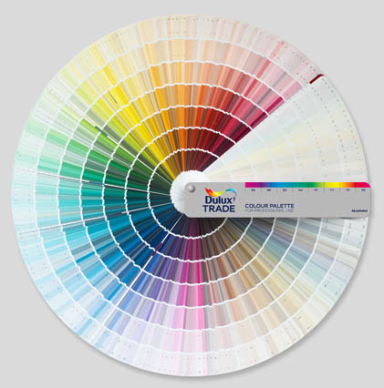 Dulux trade latest colours painting and decorating news for Lrv paint color chart