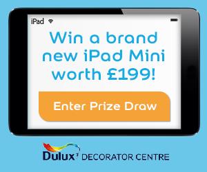 win an ipad banner