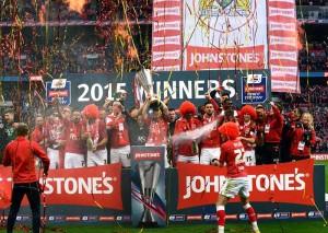 Johnstone's Paint Final 2015 Bristol City v Walsall