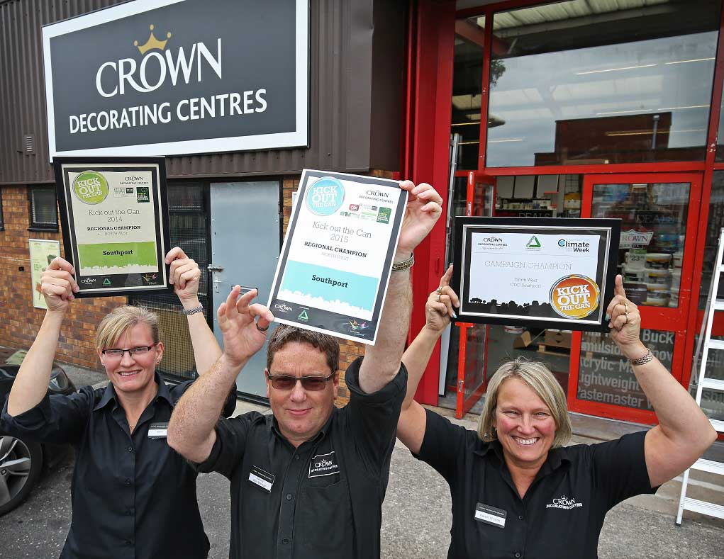 Crown Kick Out The Can Success Painting And Decorating News
