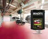 Show time for Bradite's fast, tough floor paint system