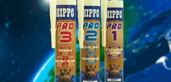 Enhanced adhesives and sealants from Hippo