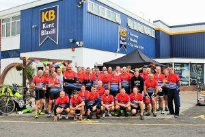 KB 120 bike riders