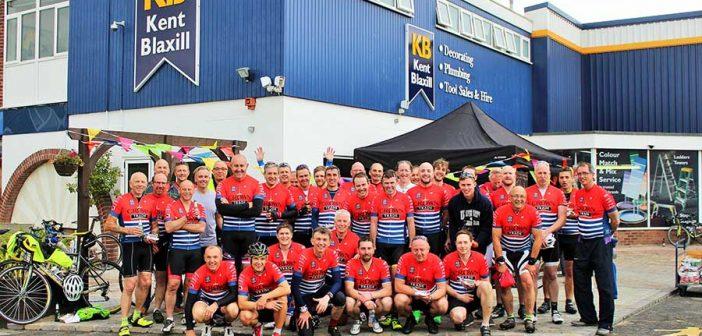 Kent Blaxill's charity ride
