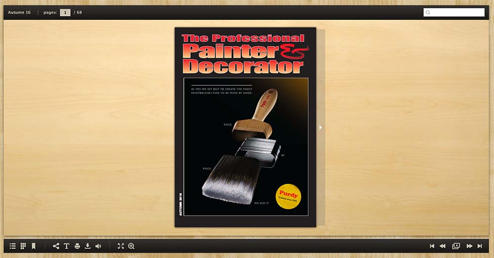 Professional painter and decorator autumn 2016 painting for Professional decorator
