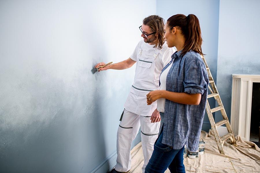 meet the dulux denim drift ambassador painting and. Black Bedroom Furniture Sets. Home Design Ideas