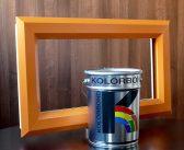 Aquatek paint for PVCu windows and doors