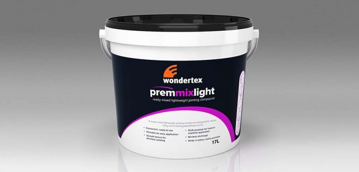 Save time with the new Wondertex prem mix light