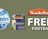 Sadolin's Free football deal