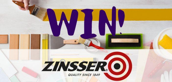 Win 1 of 5 £100 Zinsser Bundles
