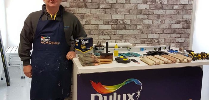 Thumbs up from Father & Son team for Dulux Academy