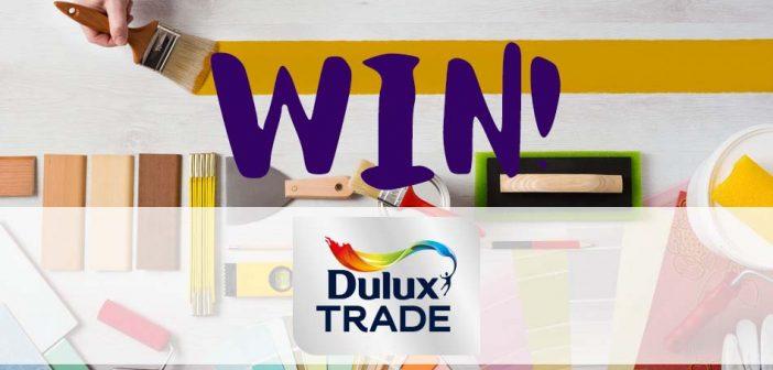 Win 2 x 5L New Dulux Trade Vinyl Matt with P&D News!