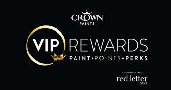 Crown Paints' loyalty scheme for 2018