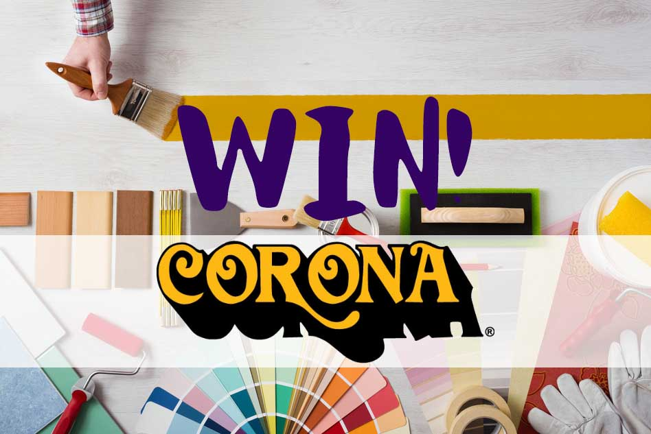 Win 1 of 5 Corona Brush Packs with P&D News! 1