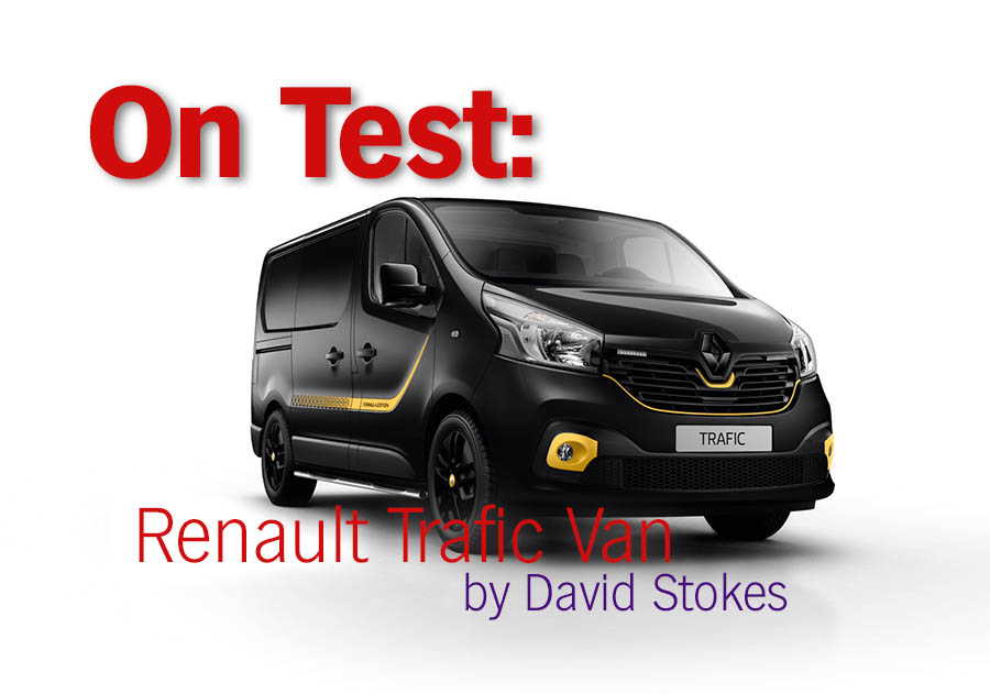 on test renault trafic van painting and decorating news. Black Bedroom Furniture Sets. Home Design Ideas