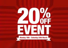 """Dulux Decorator Centres """"20% off everything"""" event kicks off"""