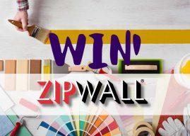 Win One Of Three ZipWall® Dust Barrier Kits!