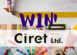 Win 1 of 3 Ciret Bundles with P&D News!