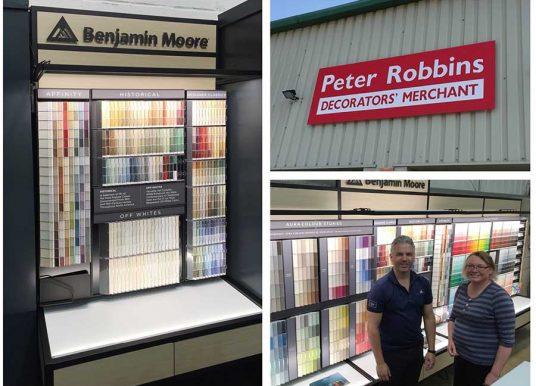 West Country Stockist for Benjamin Moore range