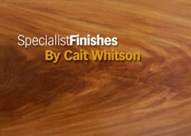 How to: SpecialistFinishes – Blonde Mahogany