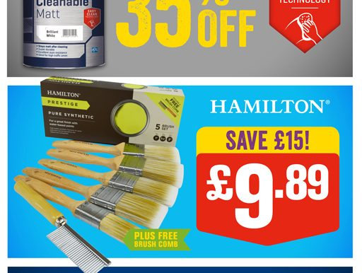 Bargain Bonanza At Johnstone's Decorating Centres