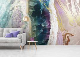 Geode-Style Murals – Wallsauce