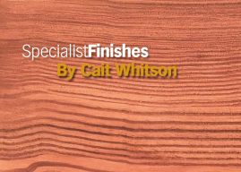 How to: SpecialistFinishes – Pitch Pine