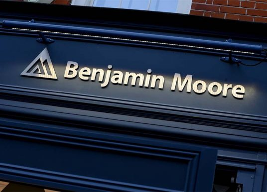 Second UK Showroom for Benjamin Moore