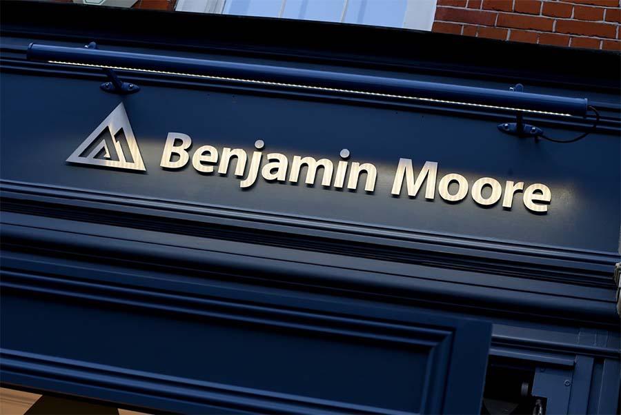 Shaw paints now part of Benjamin Moore 1